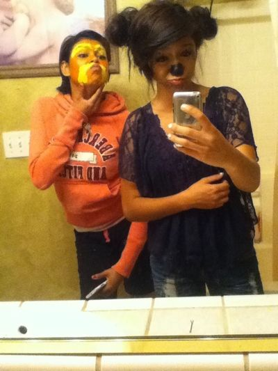 The jaguar and the lorax :D