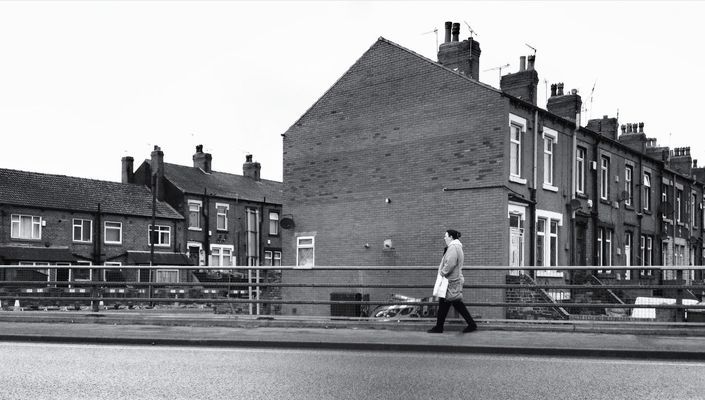 inner city life in Leeds by Graham Preston