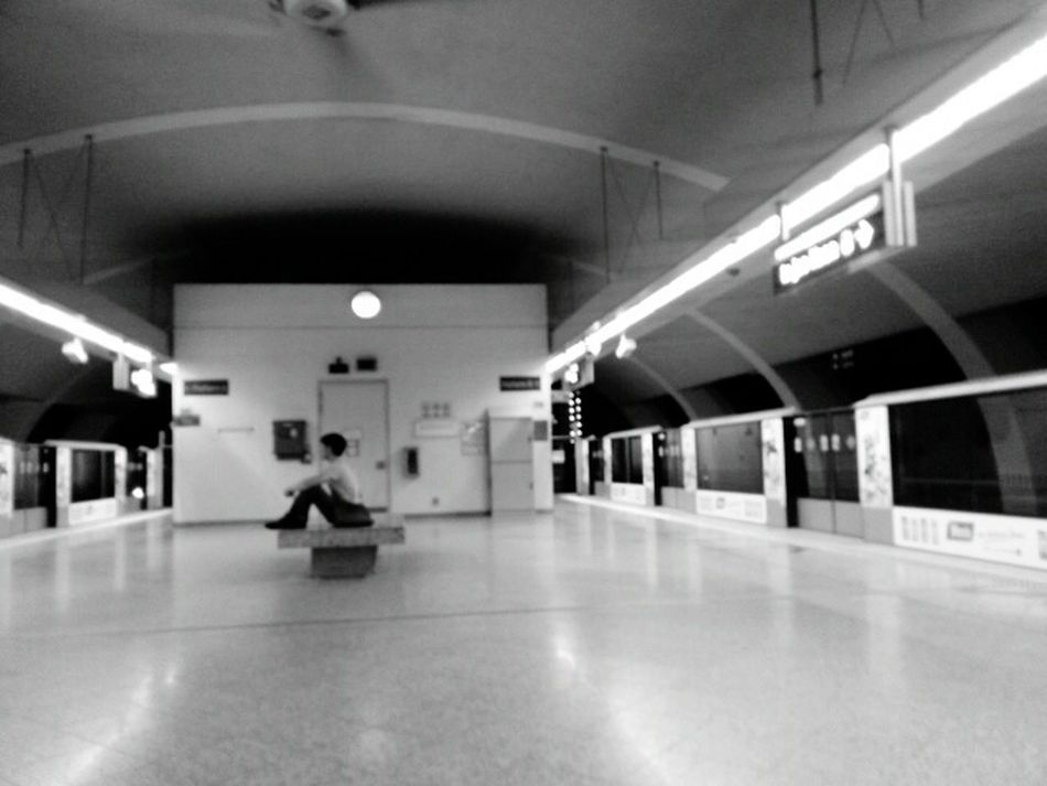 Theplacesigo Theplacesivebeen Solitude sub Subway Phonecameraishorrible