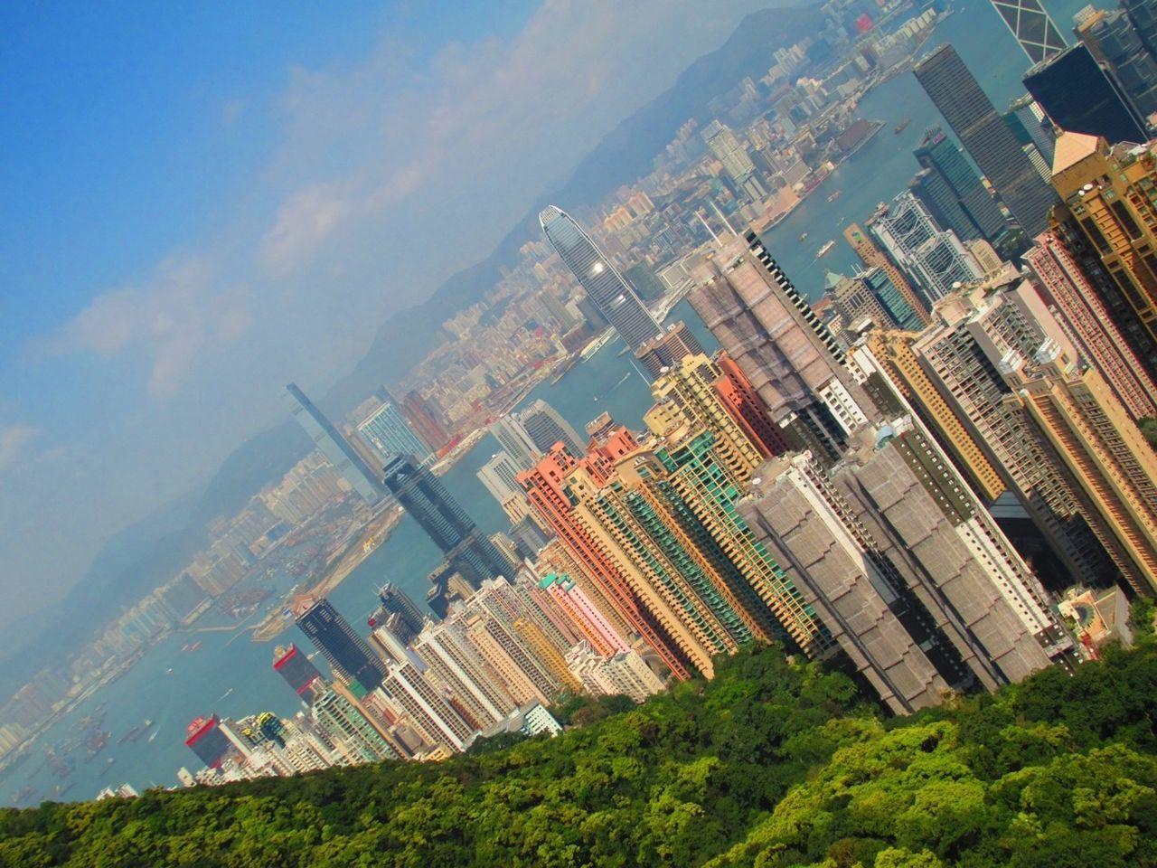 Skyscrapers At Seaside