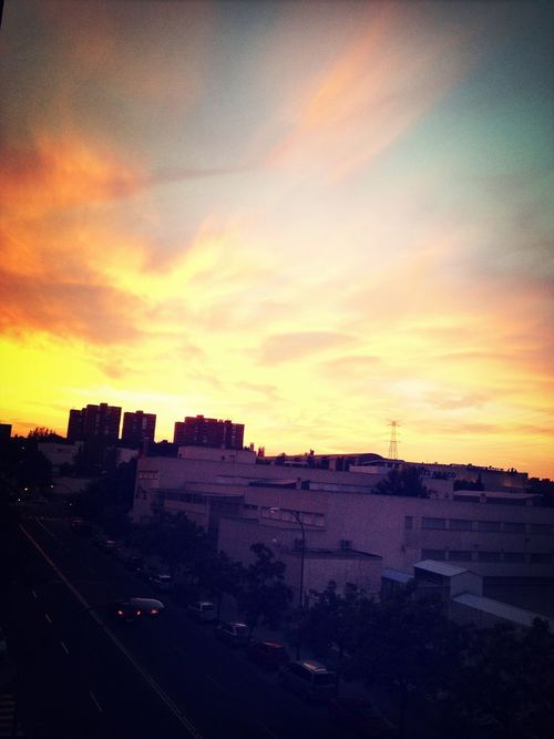 Amazing view from my window! Sunset Sky Clouds