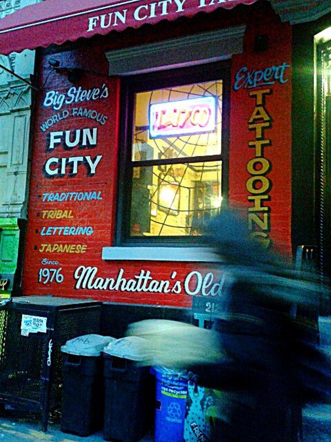 Big Steve's World Famous FUN CITY.photo by Shell Sheddy Shellsheddyphotography Sheshephoto Street Photography NYC Street FUN CITY Showcase March