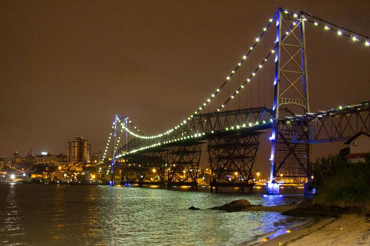 Pontehercílioluz Bridge Floripa
