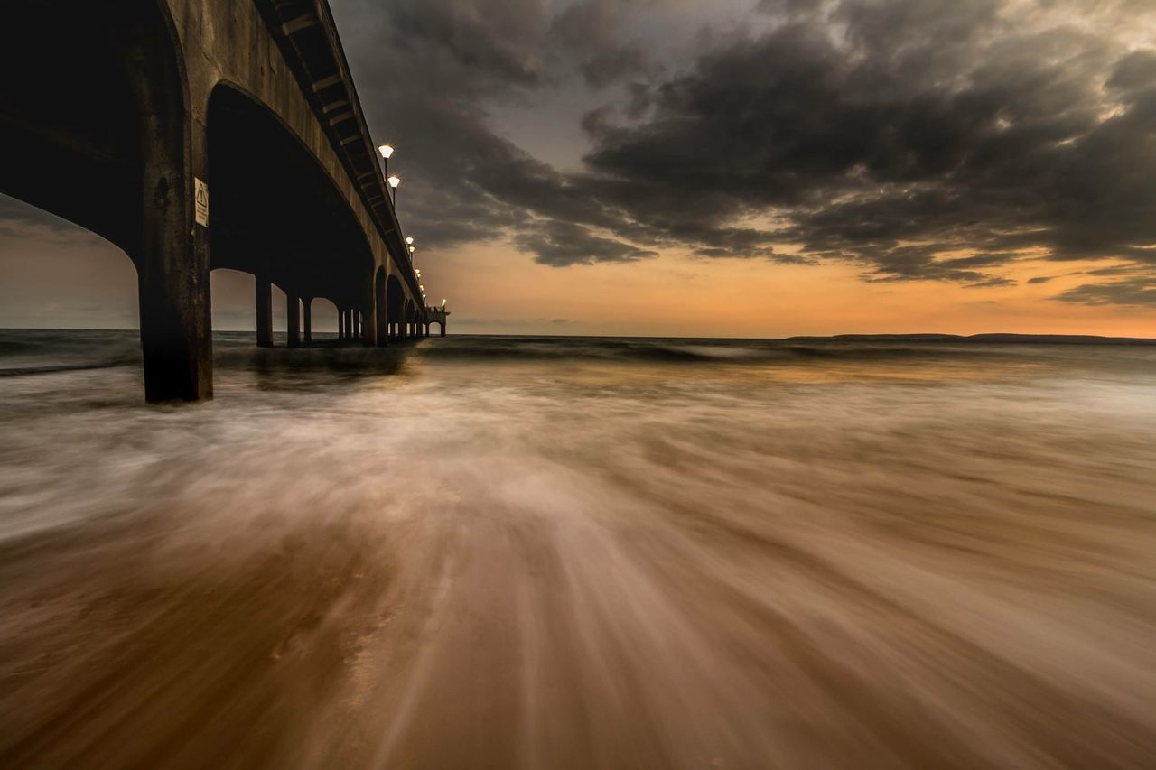 Boscombe Pier  Long Exposure