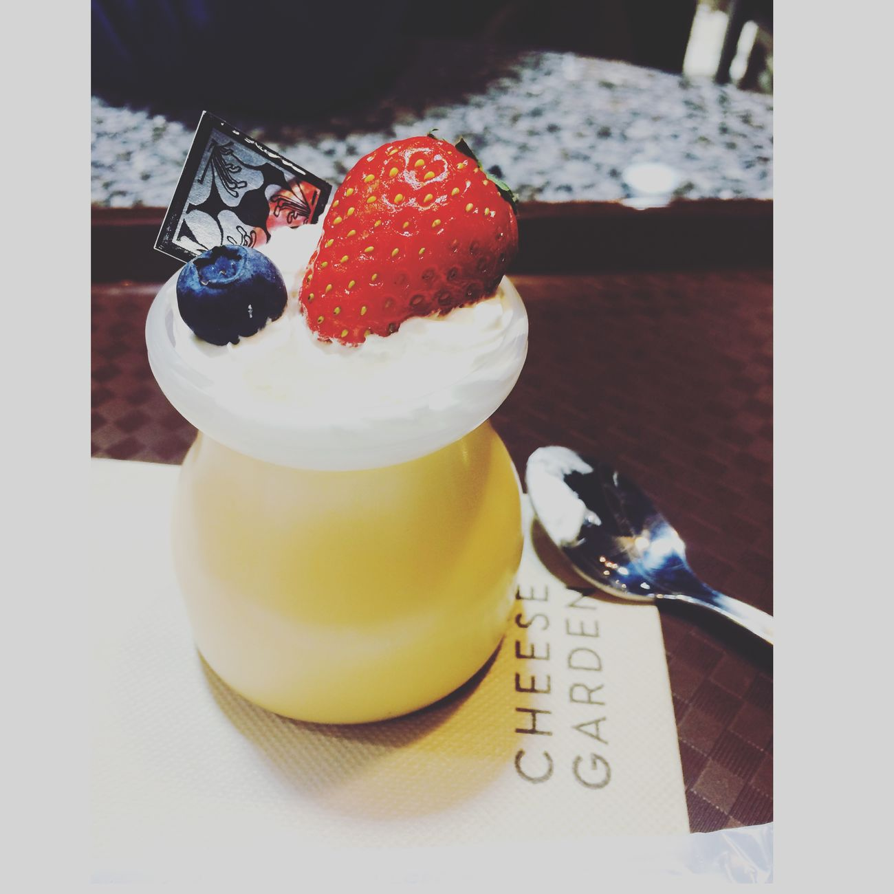 Yummy cheese pudding 😋 Cheese! プリン Cheese Garden Enjoying Life Check This Out :))✌️✌️😎✌️✌️