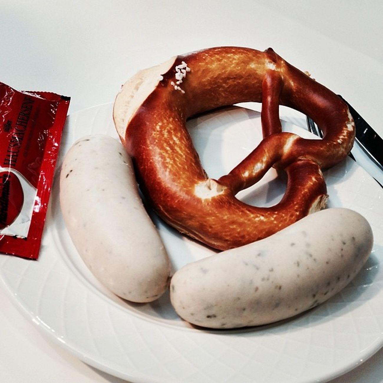 Spätes Weißwurstfrühstück... #cmt14 Cmt14