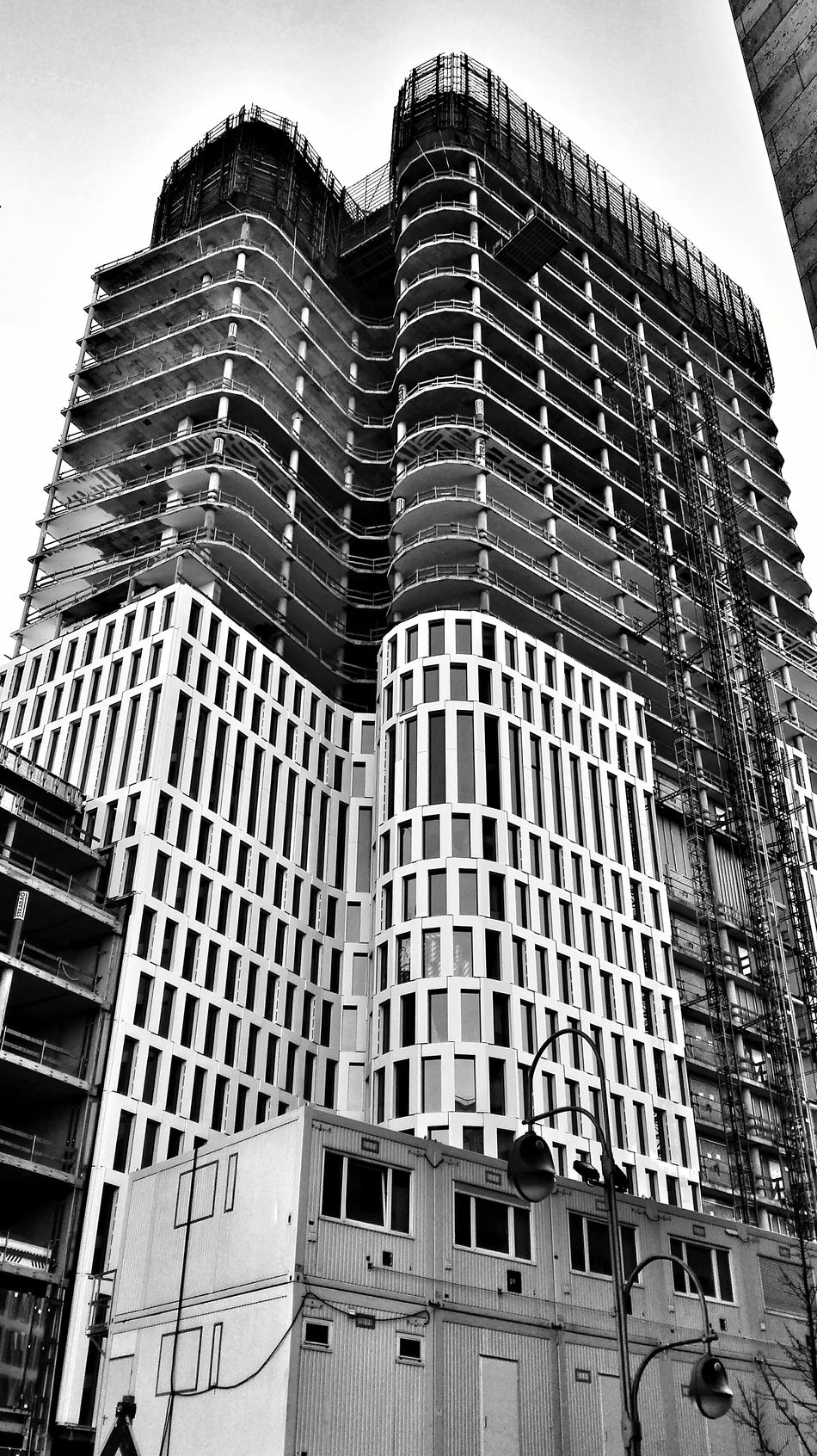 ArchiTexture Blackandwhite Sceleton Structure