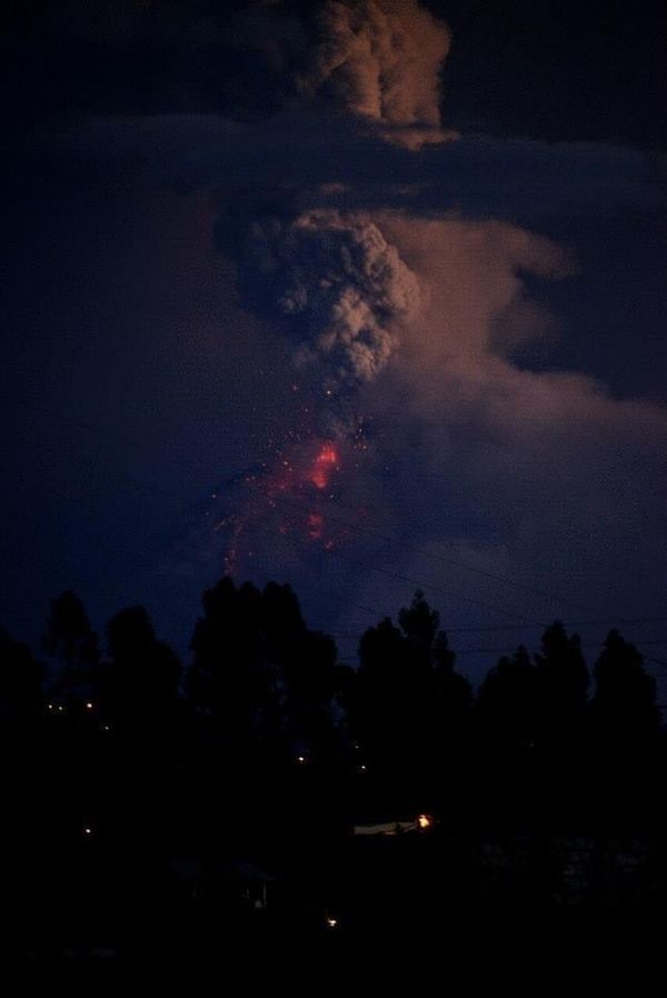 Volcano Tungurahua Ecuador