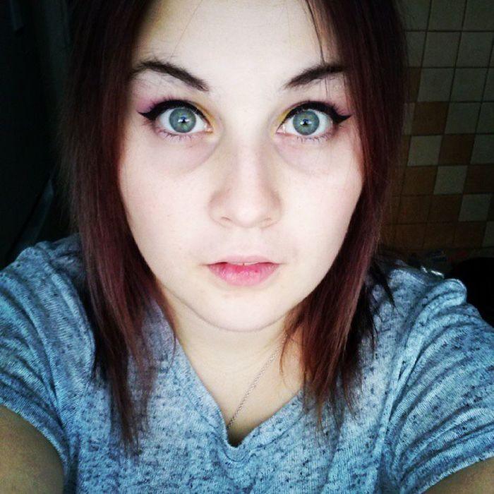 Me Girl Cute Love ShoutOut Selfshot Selfie Light Pale Violet Green Eyes Like Likeforlike Spam Spamforspam ShoutOut Spamme Instagood Bestoftheday Photooftheday