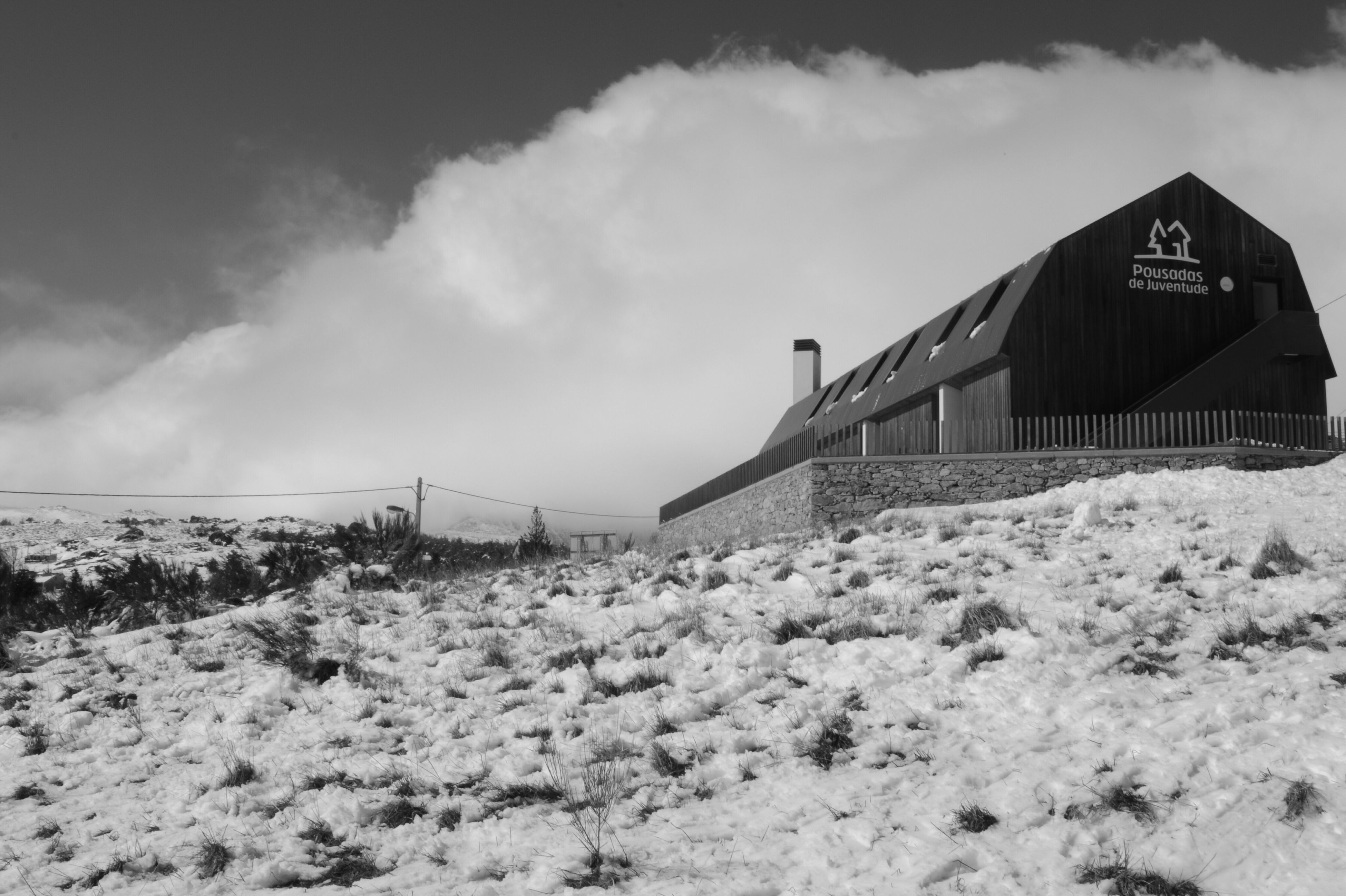 sky, cloud - sky, built structure, weather, beach, architecture, snow, cloudy, cloud, sand, nature, landscape, winter, house, building exterior, tranquil scene, tranquility, cold temperature, day, field