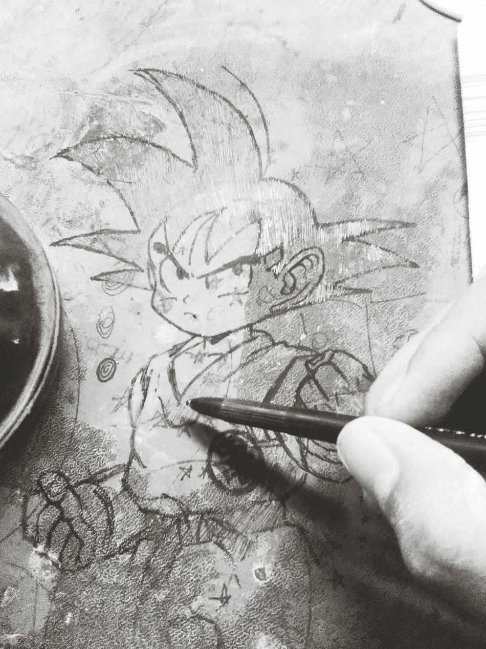 A quite moment in the job! :) Drawingtime