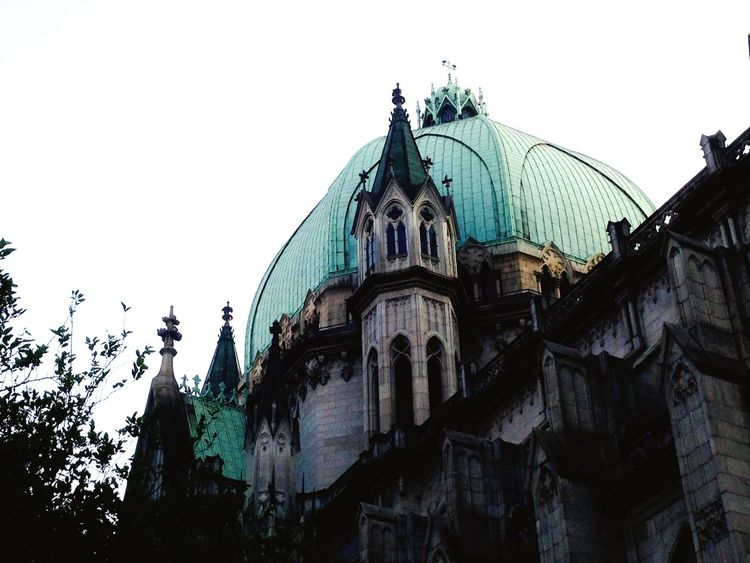 Another angle Walking Around Cathedral Church Architecture São Paulo Brazil Eym Best Shots