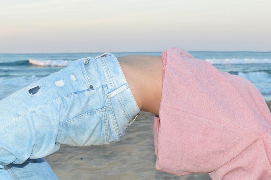 Beautiful stock photos of yoga, Balance, Beach, Bending Over Backwards, Clear Sky