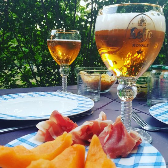Summertime Bier Time Leffe French Food