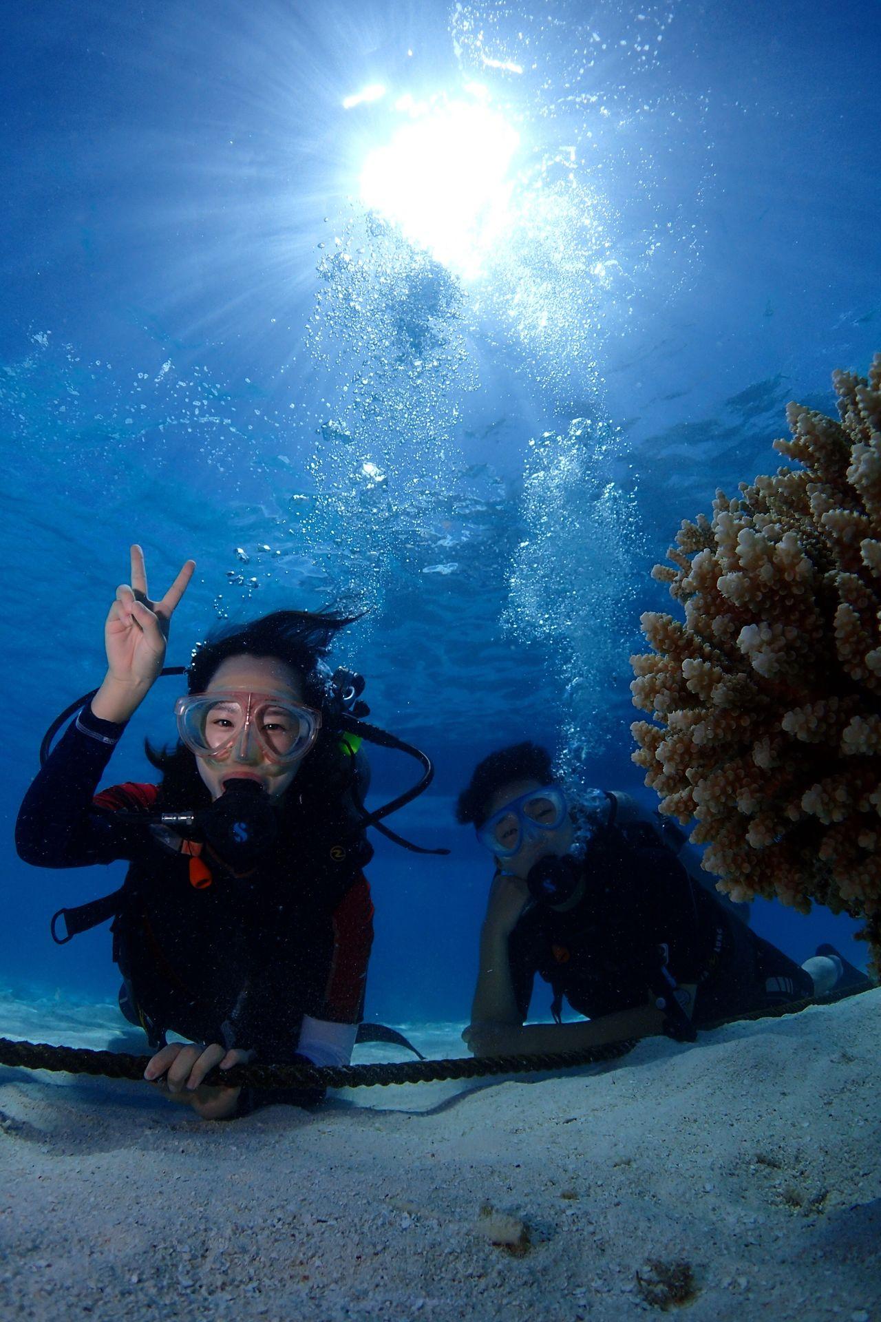 Introdiving Scubadiving Saipan Divey2k 체험다이빙 사이판