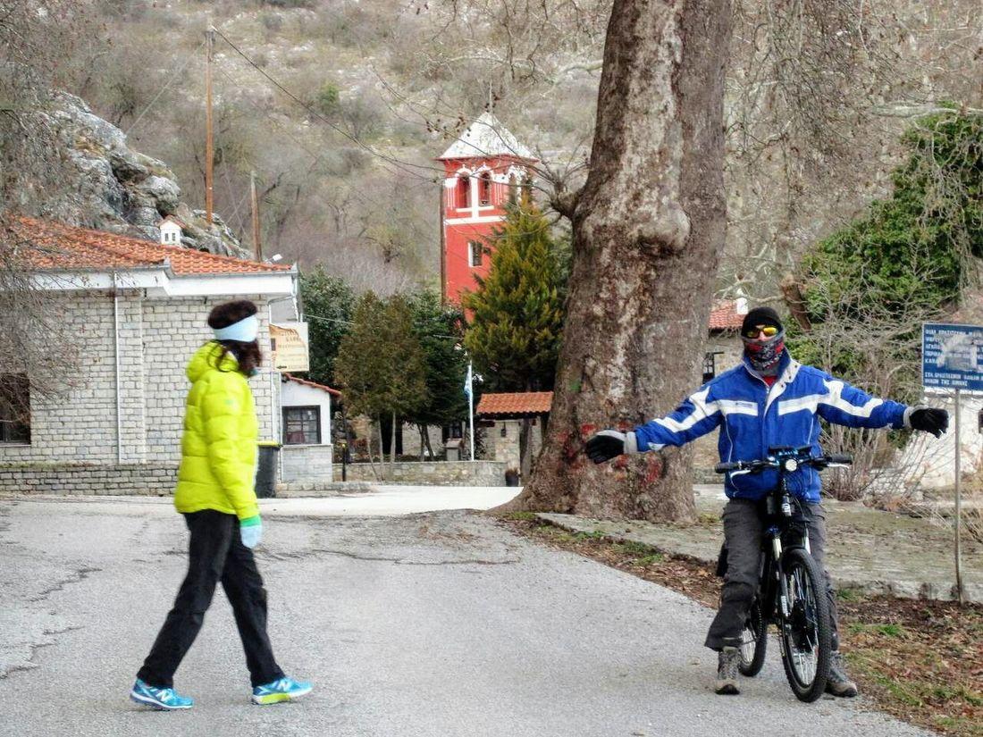 Stop at the monastery ,Saint Mary,by the lake,( PANAGIA MAVRIOTISSA ). ****(paparazzy evrywhere 😎😎😎)