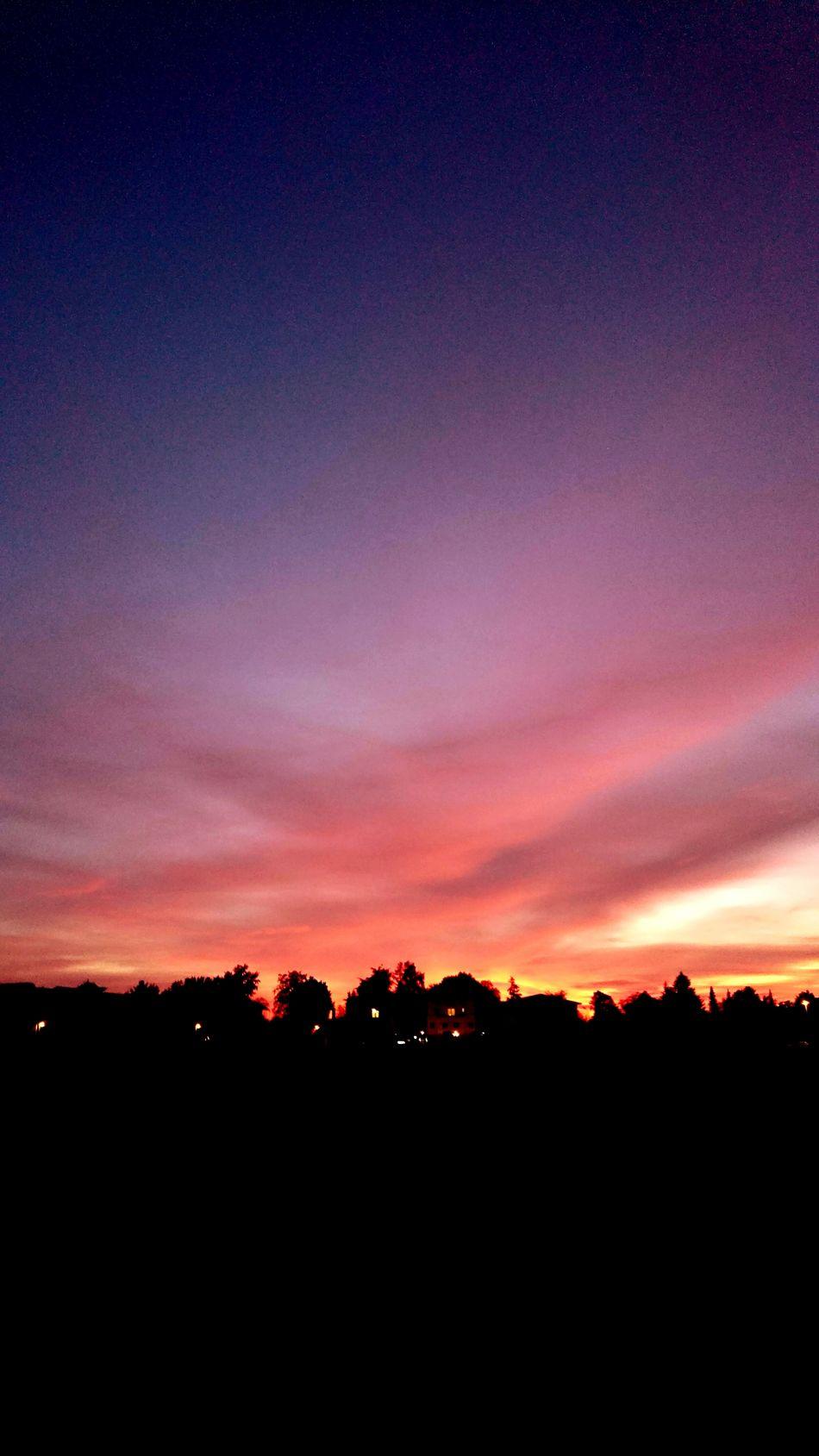 RedSky RedClouds  Sunset Sunlight Evenings Evening View Eveningwalk Evening Sky Skyisonfire Closeup