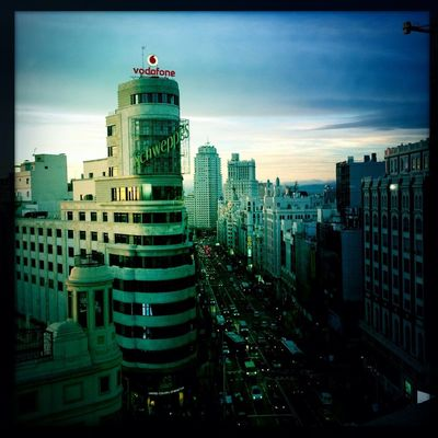 hipstamatic at Plaza del Callao by Cbas28