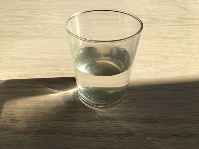 Table Drinking Glass Drink Wood - Material Drinking Water Refreshment Close-up Indoors  Wood Grain No People Fragility Day