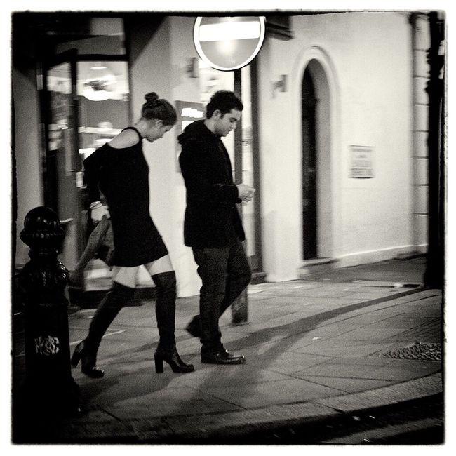 Black & White Night Lights Finding The Next Vivian Maier Street Portrait
