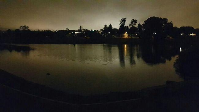 South Africa African Skies Cape Town Vygeboomdam Night Lights Posttenebraslux Light Overcomes Darkness