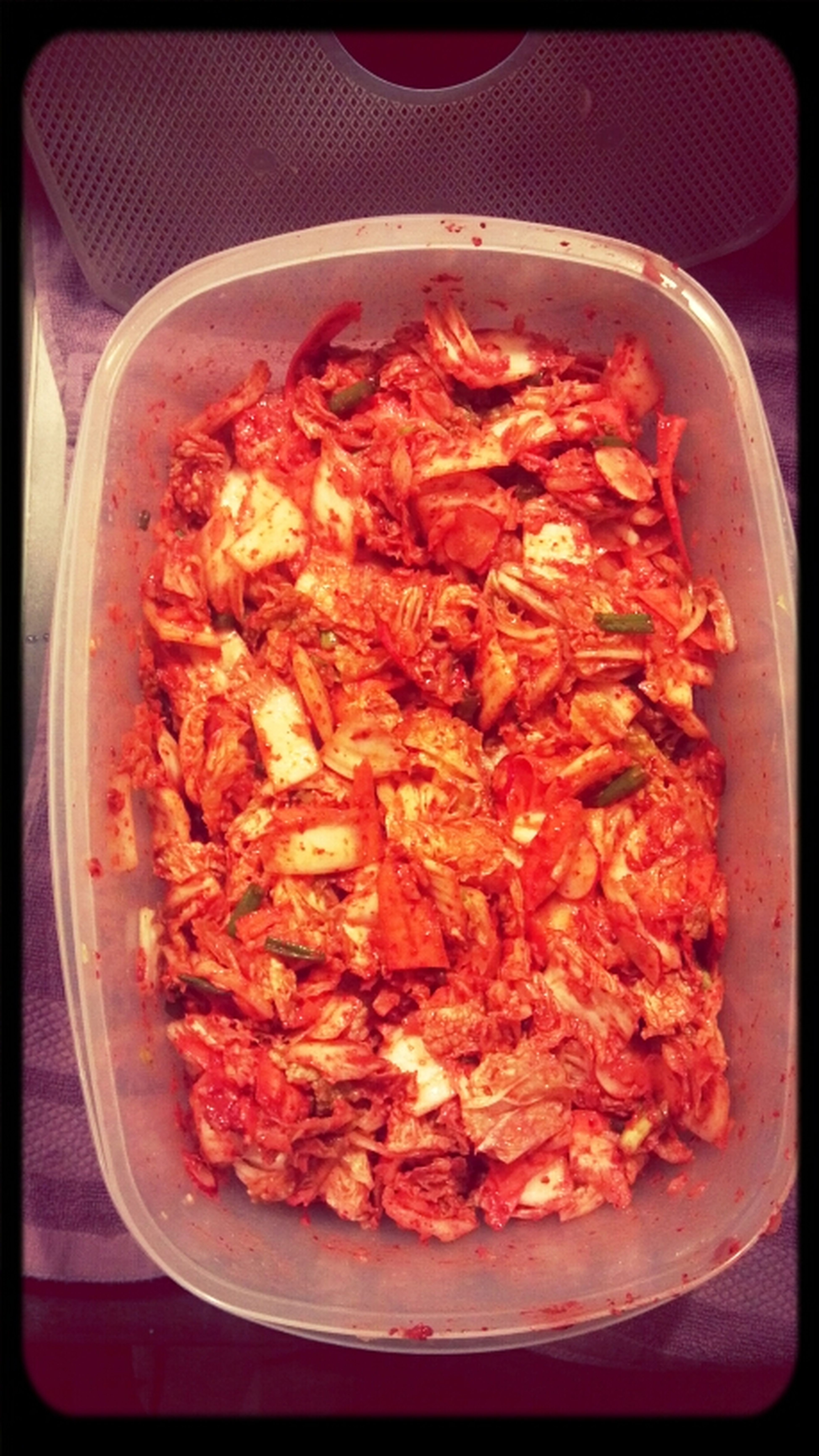 I May Have Just Made A Big-ass Batch Of Kimchi
