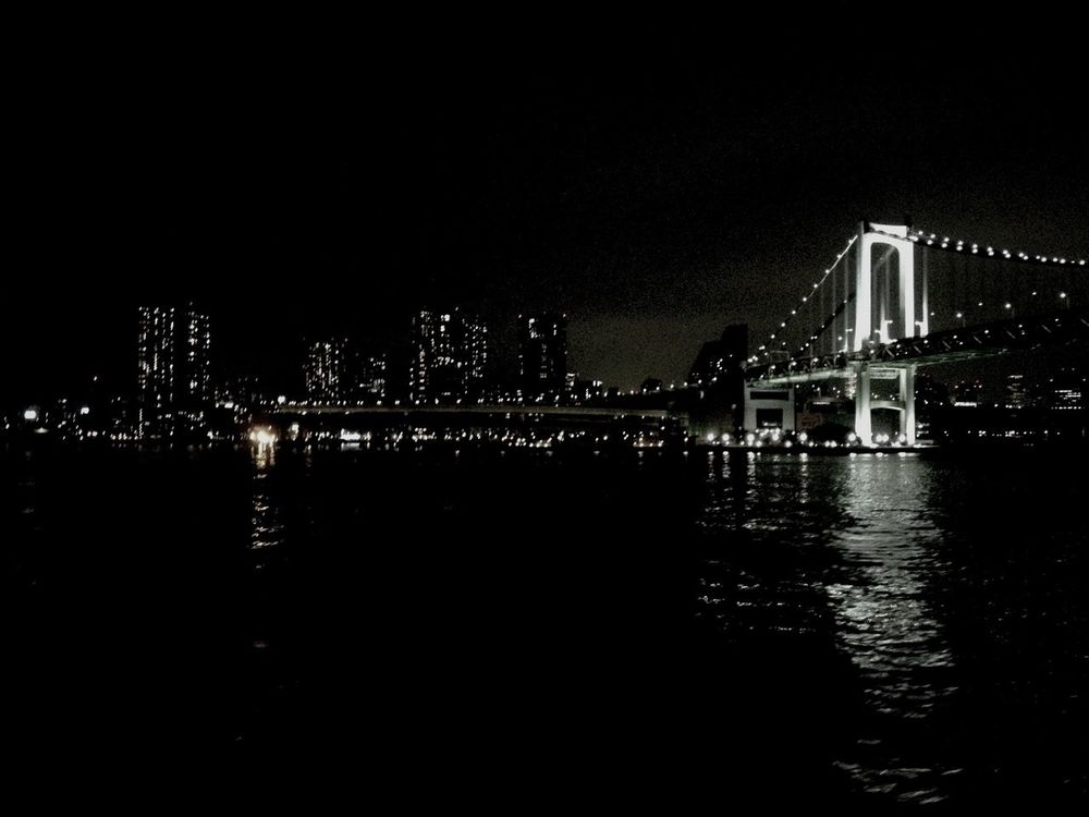 IPhoneography Night View 東京湾