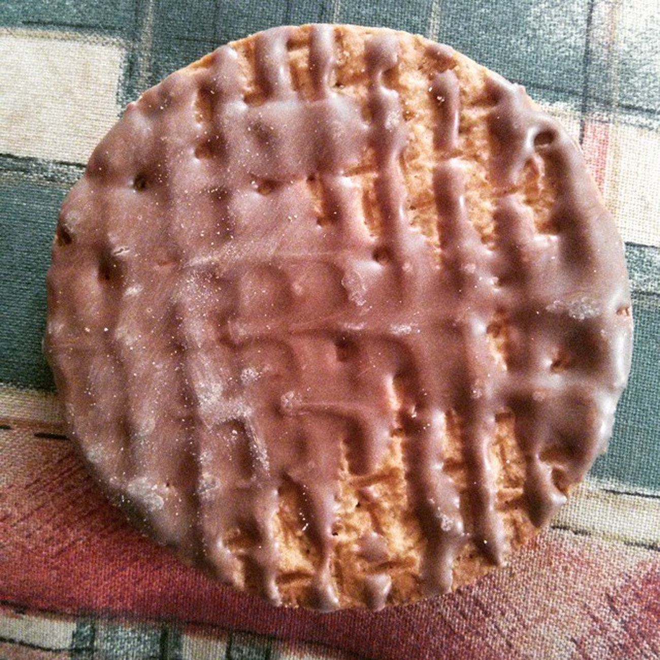 Unacceptable chocolate coverage. Mcvities