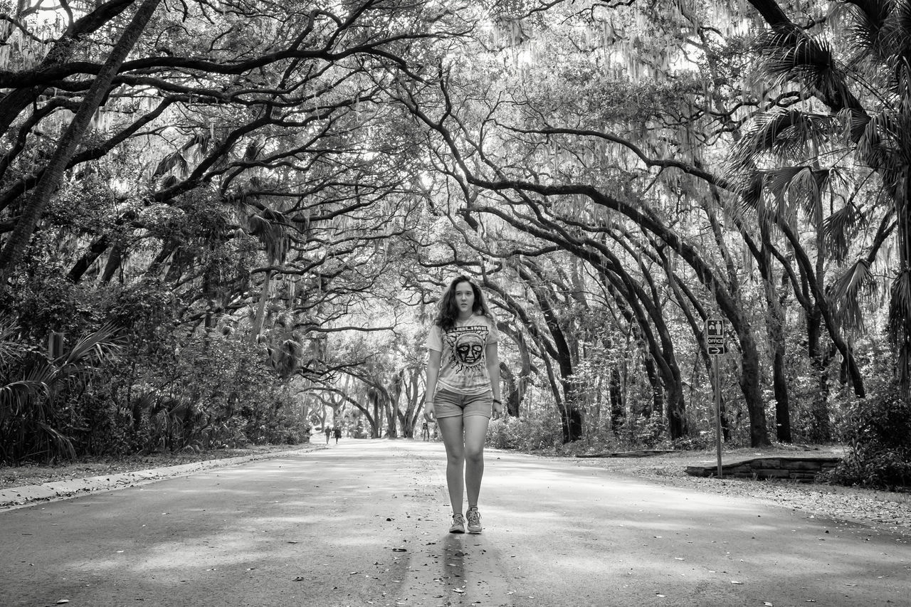 Adult Adults Only Bare Tree Beauty Beauty In Nature Branch Day Full Length Nature One Person One Woman Only One Young Woman Only Only Women Outdoors People Rear View Tree Women Young Adult 3XSPUnity