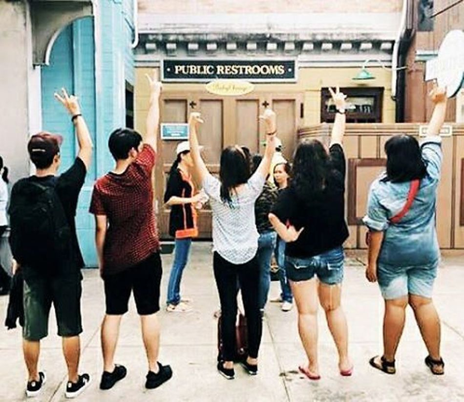 """I love when you meet someone and you just click. You just know the universe said """"you five, yeah you, don't leave each other's side okay?"""". Here's to meeting awesome new people and forming amazing new bonds. Ctto Sibs Siblingsgoal"""
