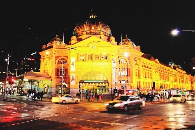 Flinders St #Melbourne Melbourne Travel