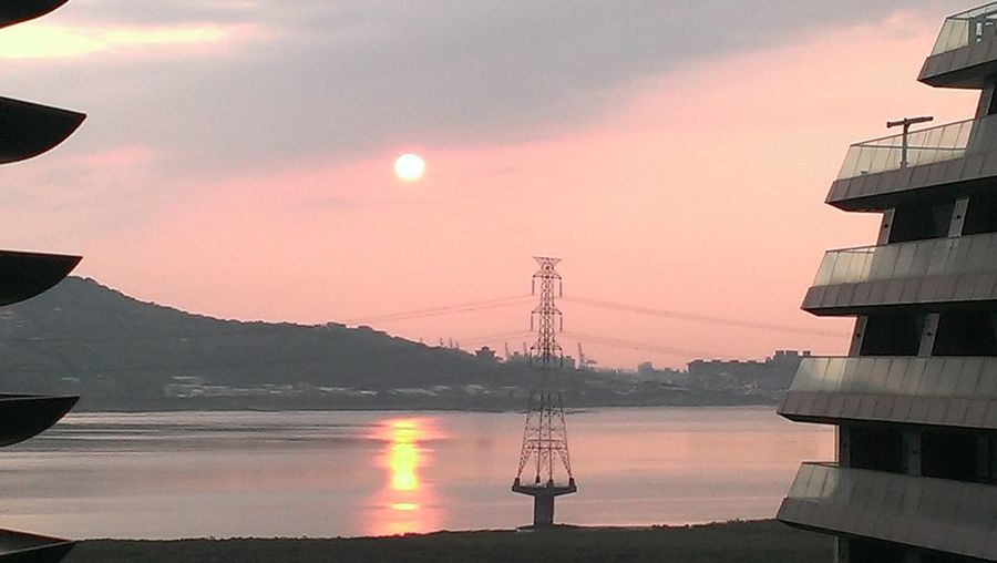 Sunset in Damsui