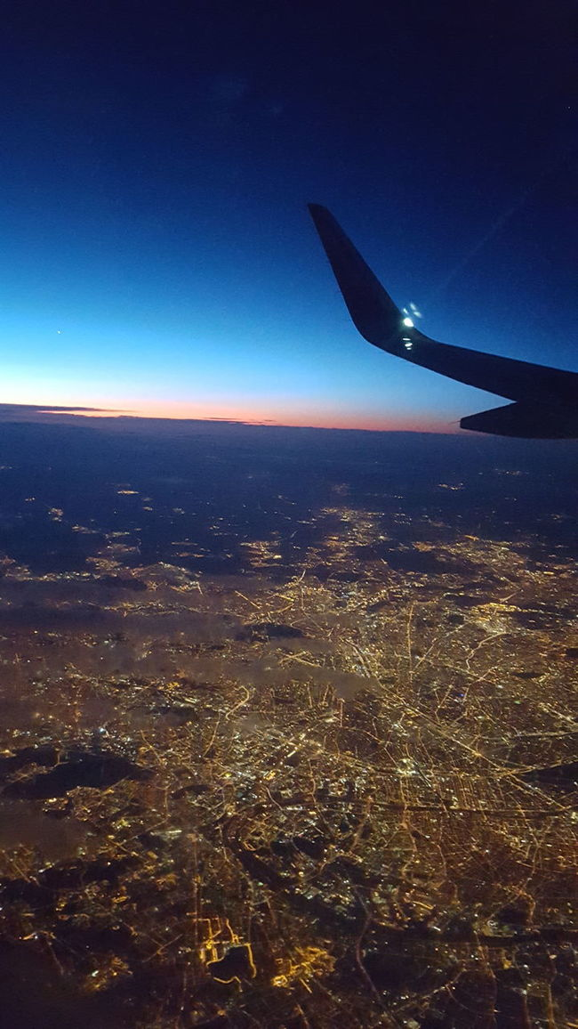 paris at night Aerial View Air Vehicle Aircraft Wing Airplane Countryside Firstholidayswithplaneandb Flying JustMe Mid-air Mode Of Transport Paris ParisAttacks Parisfromaboc Parisfromn Transportation