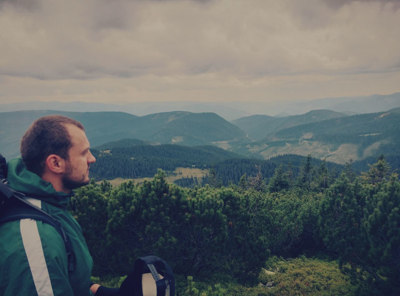 Bro Karpathian Green Nature Adventure People Full Length One Person Beauty In Nature Grean Trip Travel Grass Cloud - Sky Ukraine The Great Outdoors - 2017 EyeEm Awards