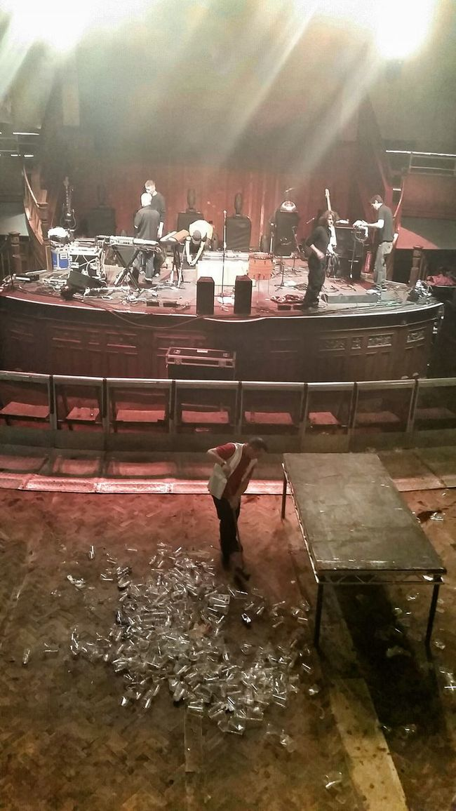 Post Concert Cleanup Concert Hall  Cleaning
