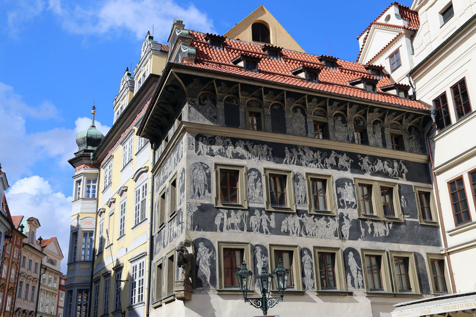 Beautiful stock photos of prague, building exterior, architecture, built structure, low angle view