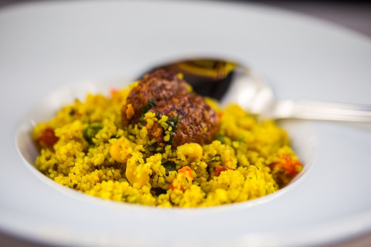 Couscous with Curry Food Photography Salad Yummy Couscous Couscous Time  Curry And Couscous Currylife Myfoodphotography