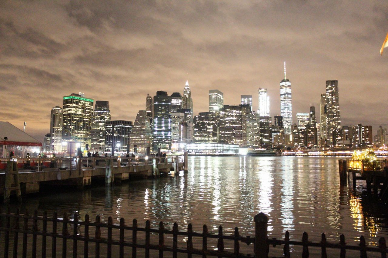 city lights Night City Cityscape Urban Skyline Reflection Skyscraper Modern Dusk Architecture Water Downtown District Outdoors Sky Illuminated Harbor No People