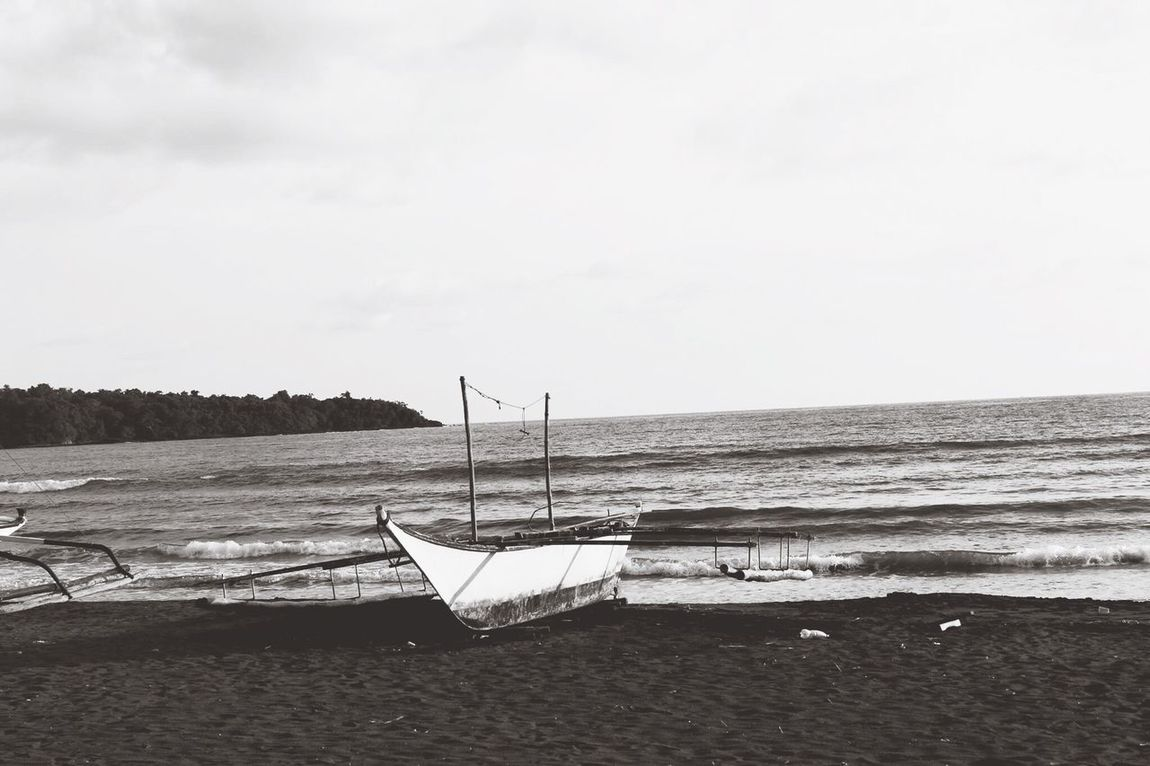 Smallboat Blackandwhite Memories Old Beach Travel Photography Canon