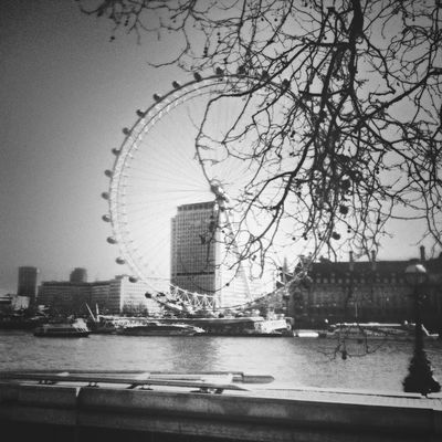 London eye by ninak
