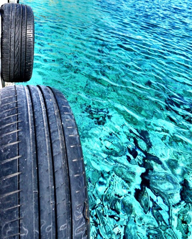 Capturing Motion Water Tire Tyre Waterfront Water_collection Wave Waves Nautical Marina Sea Nature Greece Clear Water Crete Loutro Close-up Outdoors Beautiful View Blue Blue Wave Motion Motion Blur Nature Nature_collection