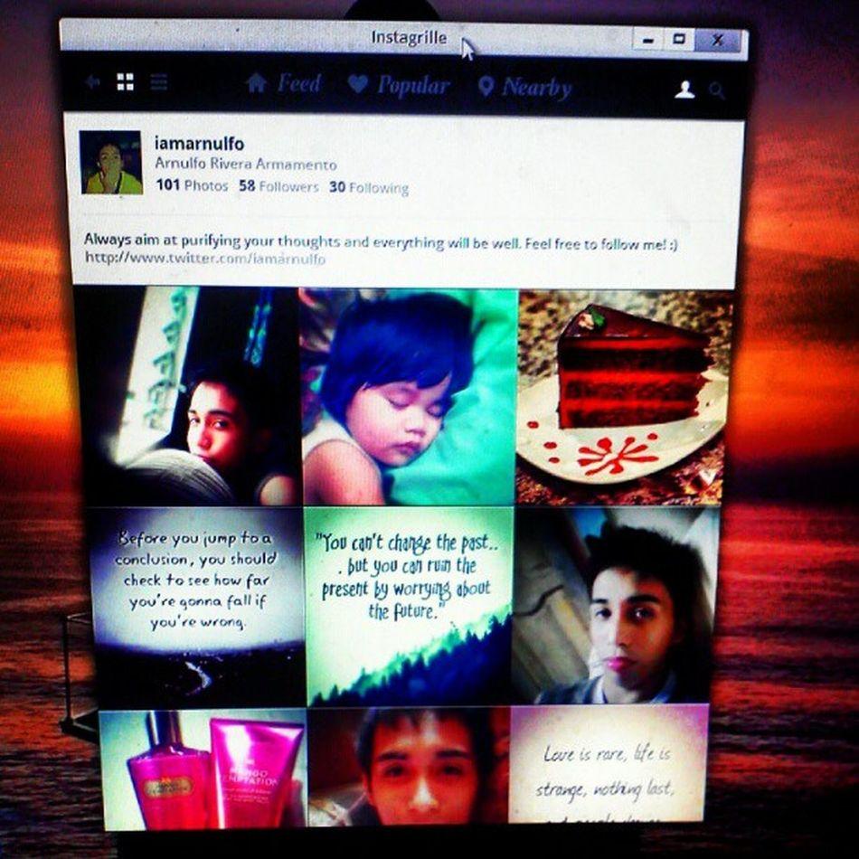 Instagram on my desktop! Instagrille Love Live Like instagramhub instalove instagood goodeve picoftheday igerscebu igers ignation photography photooftheday instagram instalike rogue