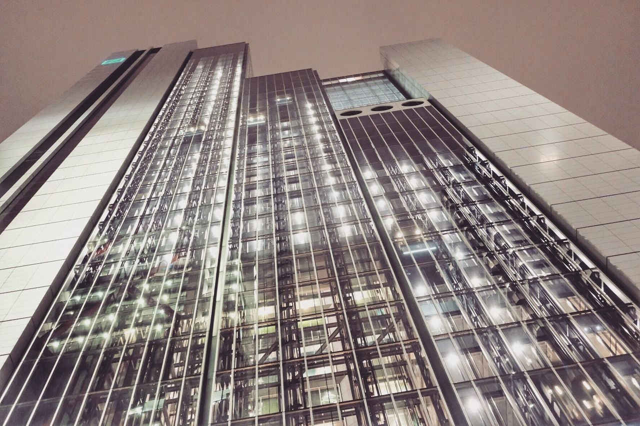 modern, architecture, low angle view, city, skyscraper, no people, building exterior, tall, growth, built structure, outdoors, day
