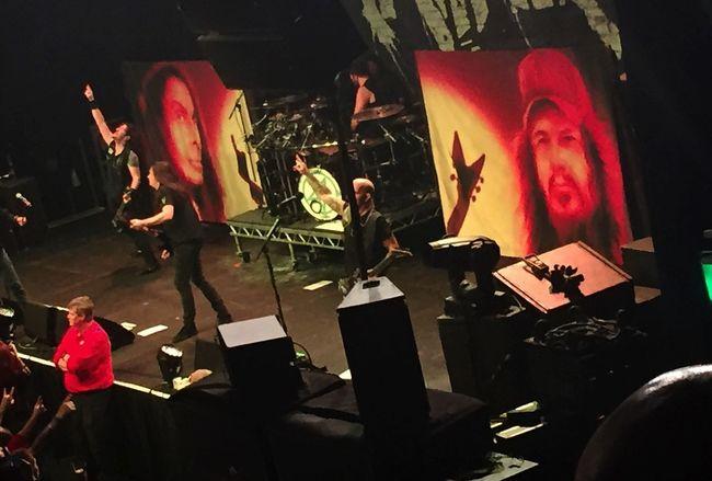 Concert Metal Anthrax Gothenburg Scott Ian behind the post