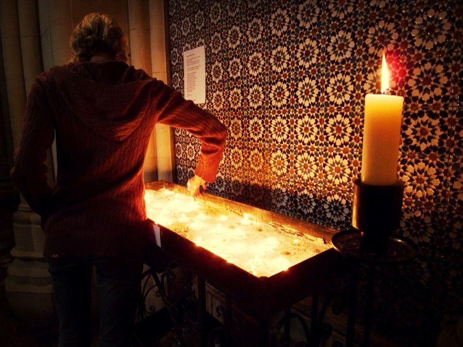 Church Worship Candle