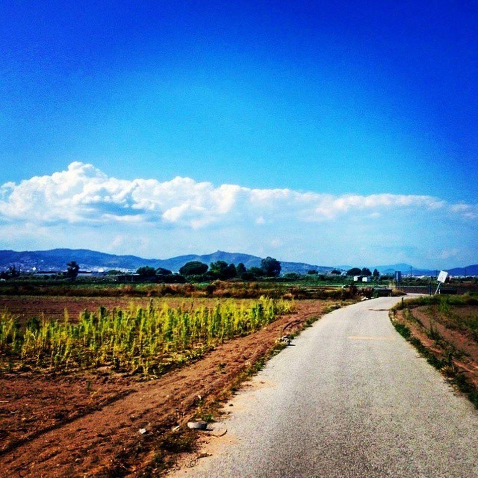 Countryside Barça Barcelona Romanticadventures Exploring Traveling Love Beautiful Longwalk Gavà SPAIN Perfect Paradise Sunny June 2015  2ndDate Instagood Shotoftheday