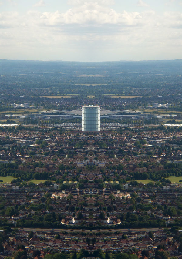 London summer 2016 Adapted To The City Aerial View Aeroplane View Alhaalla Apartments Architecture Building Exterior Buildings Built Structure City Clouds Day Down Below Houses Ilmakuva Kaupunki Mirror Image Photomanipulation Pilvet Rakennukset Roads Sky Streets Sunny Up In The Air