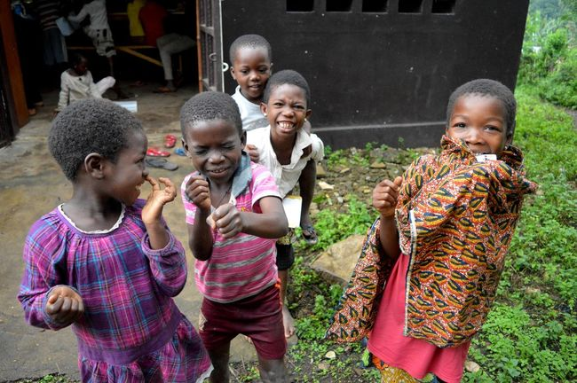 Africa African Cheerful Child Happiness Smiling Togo