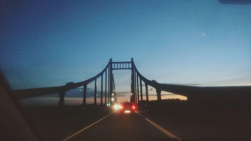 Car Night Road Outdoors Bridge Driving Drivingshots Sky No People