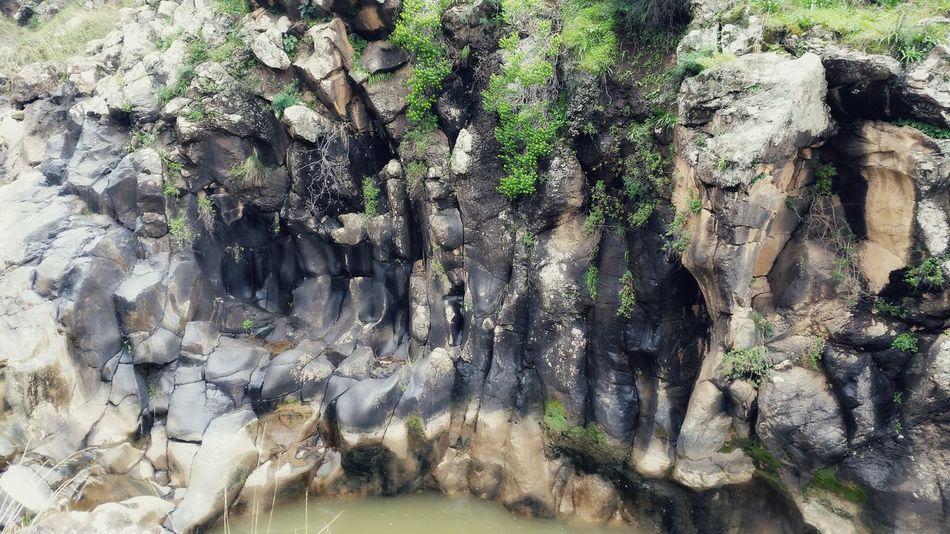 Waterfall creek Nature Cliffs Waterfall Creek Lake Cliff Lake